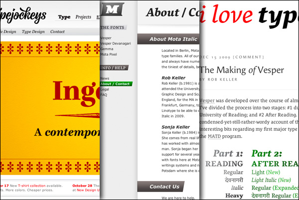 MATD-Alumni do good: Typejockeys, Mota Italic, and the making of Vesper article on iLT
